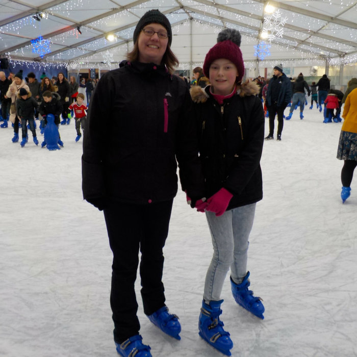 Jubilee Square Ice Rink Leicester