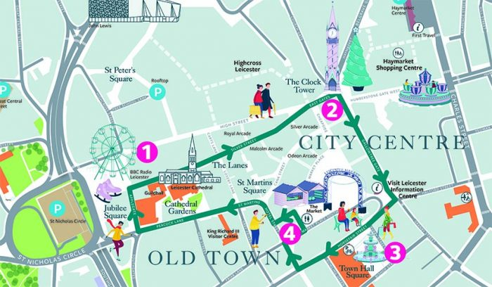 Leicester's Festive Trail