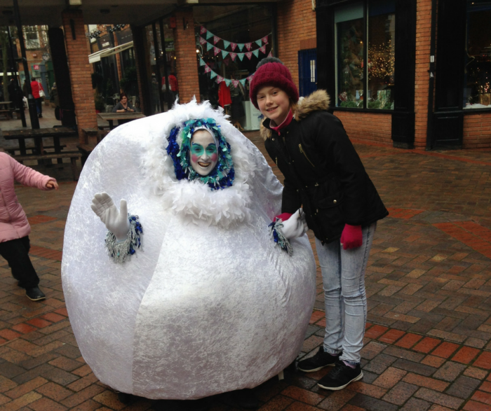 Snowball in Leicester