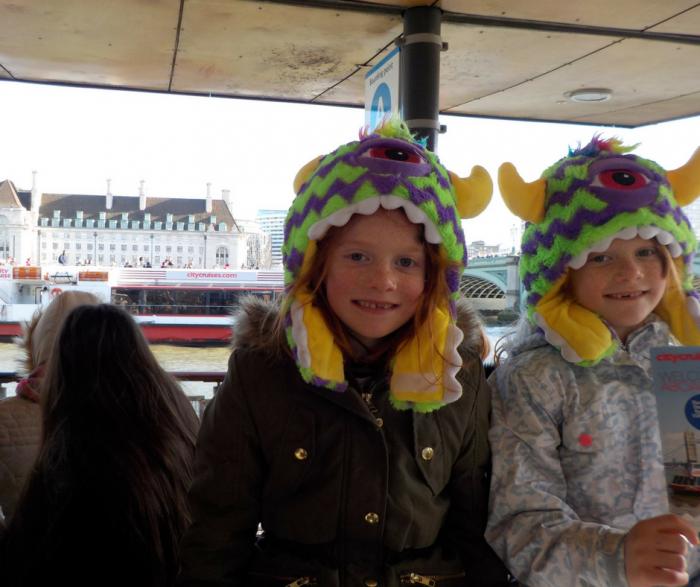 City Cruises London on the pier