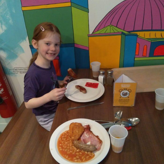 YHA London St Pauls Breakfast