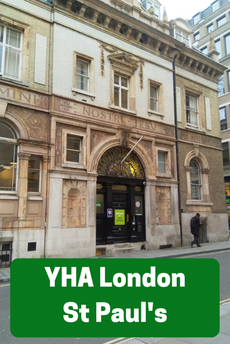 YHA London St Paul's