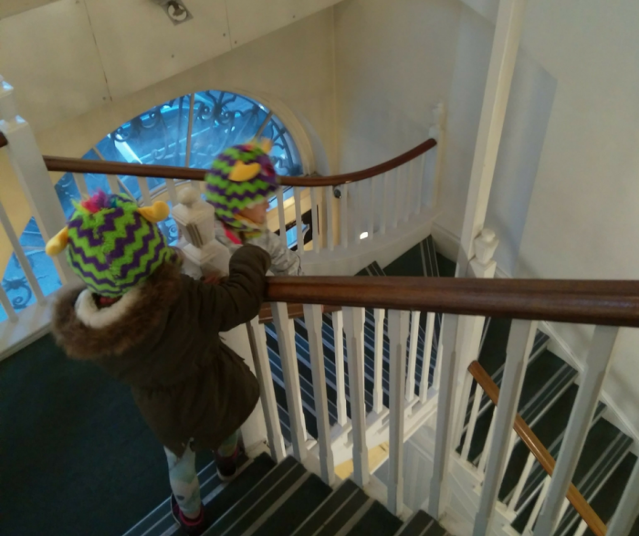 YHA London St Pauls stairs