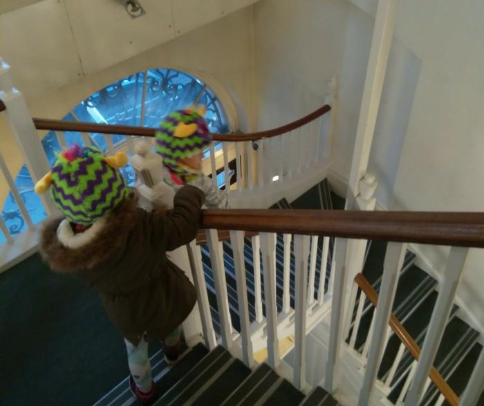 YHA London St Pauls stairs