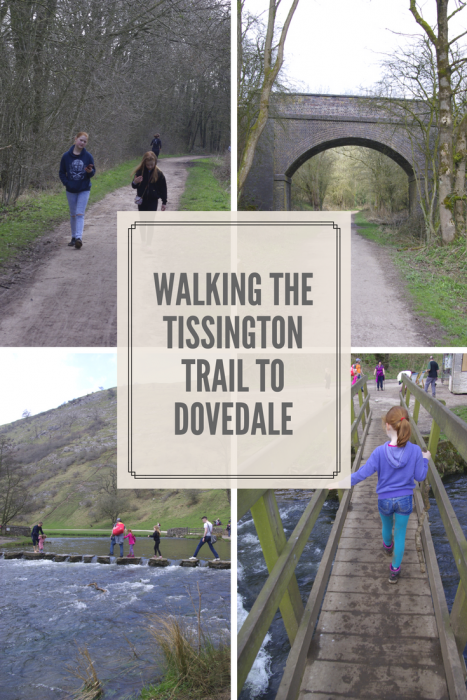 Walking the Tissington Trail to Dovedale