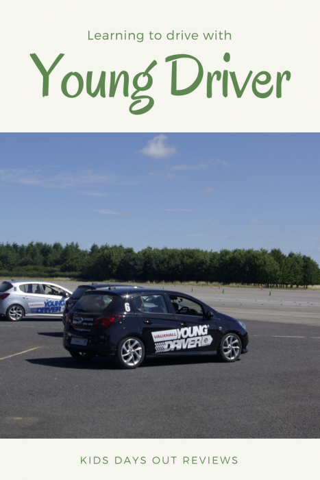 Young Driver at Leconfield in East Yorkshire