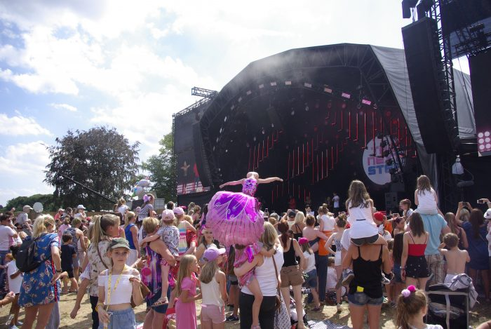 The Next Step on the main stage at CBBC Summer Social 2018