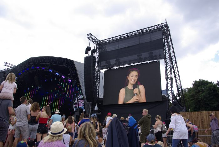 The Next Step on the big screen at CBBC Summer Social 2018