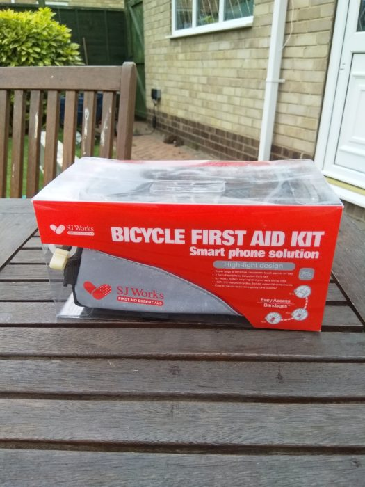 Smart Phone Solution Bicycle First Aid Kit
