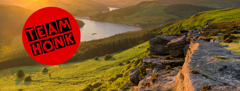 Team Honk 2019 Four and a Half Peaks Challenge for Comic Relief