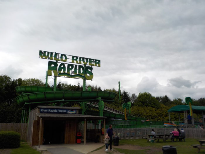 Wild River Rapids at Lightwater Valley