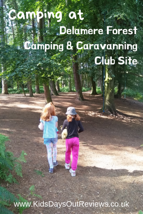 Camping at Delamere Forest - a review
