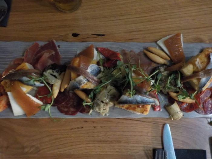 Food at Ambiente Tapas Hull