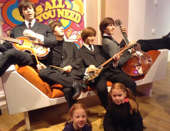 Madame Tussauds London with kids