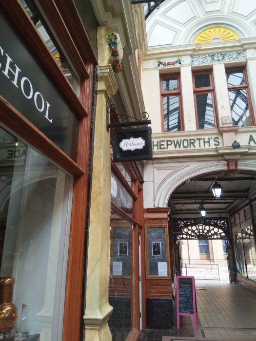 Hotham's Gin School Hepworth's Arcade